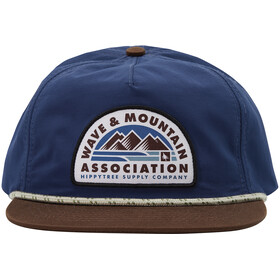 Hippy Tree Association Gorra Hombre, navy